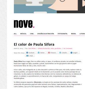 sifora en nove magazine